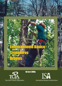 Basic Training for Tree Climbers DVD Spanish