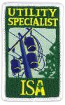 ISA Certified Arborist Utility patch