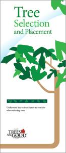 Tree Selection and Placement brochure