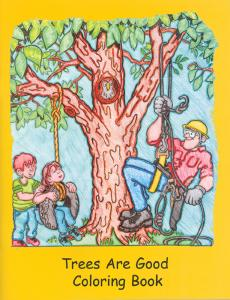 TreesAreGood Coloring book